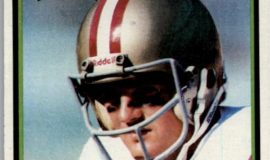 Chuck Crist with San Francisco 49ers.