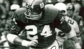 Chuck Crist with New York Giants.