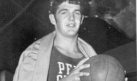 Chuck Crist played basketball at Penn State.