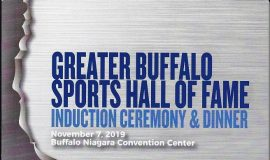 Greater Buffalo Sports Hall of Fame induction program cover.