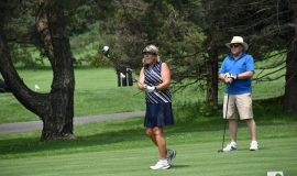 Cindy Miller at Links Charity Golf Tournament, Moon Brook CC, July 19, 2021.