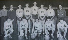 1948 SWCS Basketball - Flash Olson #10.