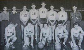 1948 SWCS Basketball - Flash Olson #10.