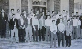 1948 SWCS S Club - Olson top row, fifth from left.