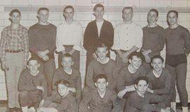 1955 SWCS wrestling team.