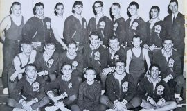 1964 SWCS wrestling team.