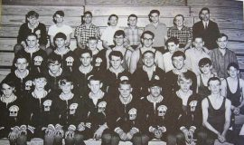 1966 SWCS wrestling team.