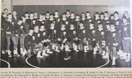1968 SWCS wrestling team.