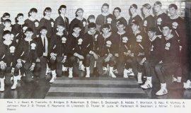 1970 SWCS wrestling team.