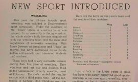 Wrestling introduced