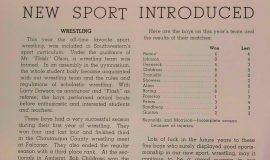 Wrestling introduced