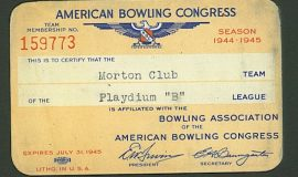 ABC card 1944-45