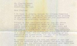 Bargar letter 3-17-41