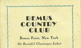 Bemus CC golf 1936