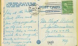 Collins postcard 1940