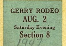Gerry rodeo 1947