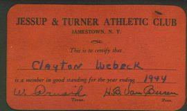 JTAC card 1944