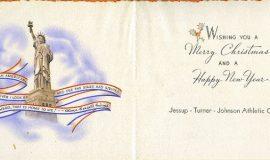 JTJAC Xmas card 1942 inside