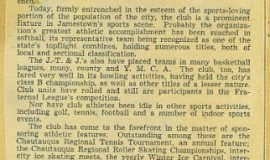 JTJAC anniversary 1941