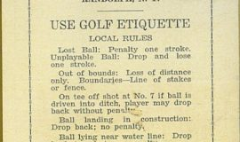 Randolph golf 1941