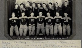 1935 Western New York Amateur Champs football team.
