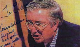 Frank Layden autographed photo.