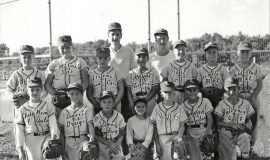 Craig Paterniti is in bottom row - far right. Circa 1960.