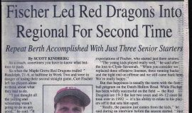 Fischer Led Red Dragons Into Regional For Second Time.  1997