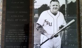 Dale Till's SUNY Fredonia Hall of Fame plaque