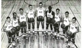 Jamestown Community College basketball team, 1967.