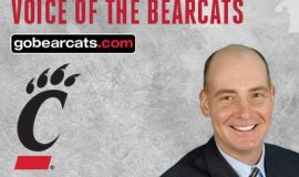 Dan Hoard, the  radio play-by-play voice of the University of Cincinnati football and men's basketball teams.