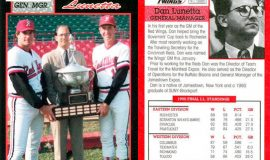 Dan Lunetta was General Manager for the league champion Rochester Red Wings in 1990.