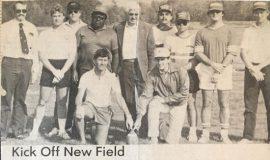 Kick Off New Field. 1985.