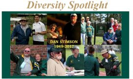 William & Mary Mourns Passing of Hall of Fame Coach Dan Stimson.  November 2017.