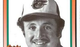 Dave Criscione with the 1977 Baltimore Orioles.