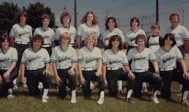 DeCeilo's Trucking softball team circa 1981.