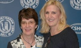 Deb Palmer and 2007 CSHOF inductee Jolene Nagel