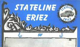 Stateline Eriez Racing Program, 1974.