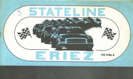 Stateline Eriez Racing Program, 1978.