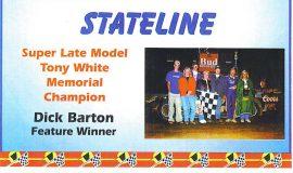 Stateline - Eriez Speedway, 2000.