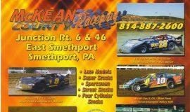 McKean County Raceway, 2003.
