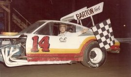 Dick Barton, sportsman, 1979.