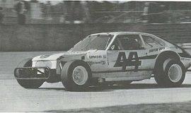 Dick Barton, Daytona, 1975.