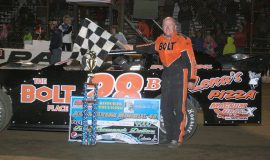 Record breaking 80th win at Stateline, September 20, 2014.