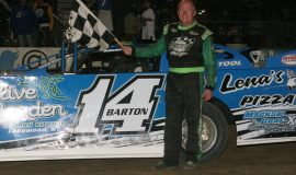 Dick Barton tied Bob Schnars for 79 wins at Stateline on August 30, 2014.