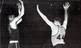 Dick Cole (left) JHS 1964.