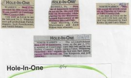Golf Hole-In-One  articles.