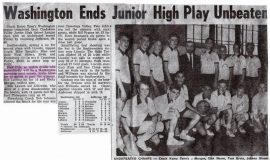 Junior High School basketball articles.