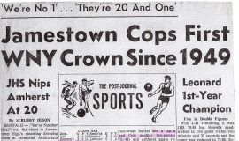 Jamestown Cops First WNY Crown Since 1949.