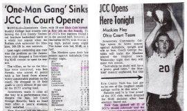 Jamestown Community College basketball articles.